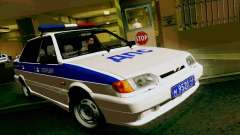 ВАЗ 2115 Полиция для GTA San Andreas