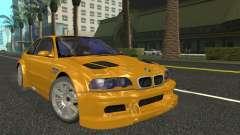 BMW M3 GTR из NFS Most Wanted для GTA San Andreas