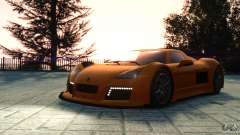 Gumpert Apollo Sport 2011 v2.0 для GTA 4