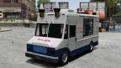 Новый фургон мороженщика для GTA 4