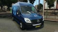 Mercedes-Benz Sprinter G4S ES Cash Transporter