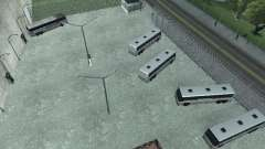 Автобусный парк версия V1.2 для GTA San Andreas