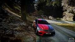 Mercedes Benz C63 AMG SAIBON Paint Job для GTA 4