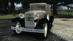 Ford Model A Pickup 1930 для GTA 4