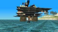 Нефтяная платформа в Лос-Сантос