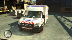 Mercedes-Benz Sprinter Ambulance для GTA 4