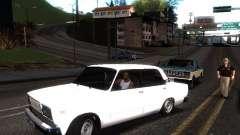 ВАЗ 2107 DAG для GTA San Andreas