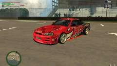 Nissan Skyline R34 Hell Energy для GTA San Andreas