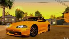 Mitsubishi Eclipse GSX Mk.II 1999 для GTA San Andreas