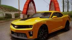 Chevrolet Camaro ZL1 v2.0 для GTA San Andreas