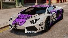 Lamborghini Aventador LP700-4 2012 Galag Gumball 3000 [EPM] для GTA 4