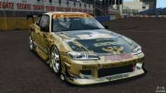 Nissan Silvia S15 D1GP TOP SECRET для GTA 4