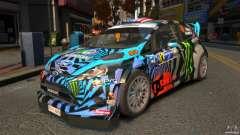 Ford Fiesta Rallycross - Ken Block (Hoonigan) 2013 для GTA 4