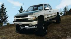 Chevrolet Silverado 2500 Lifted Edition 2000 для GTA 4