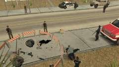 Место преступления (Crime scene) для GTA San Andreas