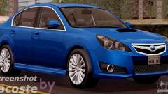 Subaru Legacy B4 2010 для GTA San Andreas