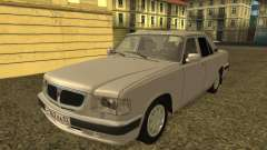 ГАЗ 3110 Волга серебристый для GTA San Andreas