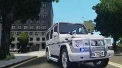 Mercedes-Benz G500 Beredskapstroppen для GTA 4