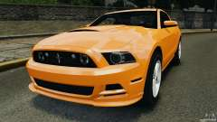Ford Mustang 2013 Police Edition [ELS] для GTA 4