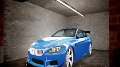 BMW M6 2013 бирюзовый для GTA 4