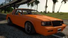 Buick Regal Grand National 1987 для GTA 4