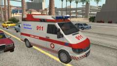 Ford Transit Ambulance для GTA San Andreas