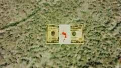 Денежные купюры США номиналом 10$