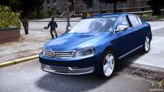 VW Passat B7 TDI Blue Motion для GTA 4