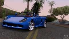 Porsche Carrera GT Custom для GTA San Andreas