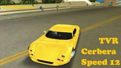 TVR Cerbera Speed 12 для GTA Vice City