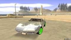 Chevrolet Corvette Stingray Monster Energy для GTA San Andreas