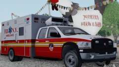 Dodge Ram Ambulance для GTA San Andreas
