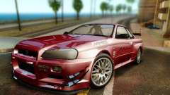 Nissan R34 Skyline GT-R