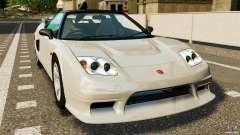 Honda NSX-R GT для GTA 4