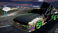 New Elegy DriftingStyleTeam для GTA San Andreas