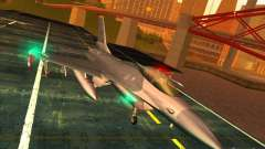 F-16C Fighting Falcon для GTA San Andreas