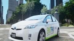 Toyota Prius EKO TAXI (Hrvatski taxi) для GTA 4
