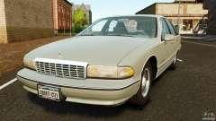 Chevrolet Caprice 1991 для GTA 4