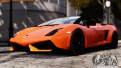 Lamborghini Gallardo LP570-4 Spyder для GTA 4