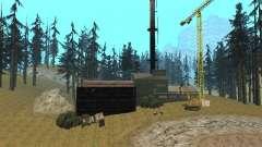 Заброшенный завод для GTA San Andreas