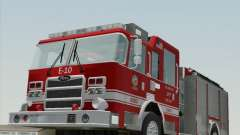 Pierce Saber LAFD Engine 10 для GTA San Andreas