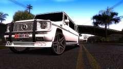 Mercedes-Benz G500 Limousine белый для GTA San Andreas