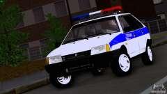 Ваз 2109 Police для GTA San Andreas