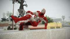 Iron Man 3 Mark V для GTA San Andreas