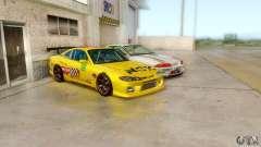 Nissan Silvia S15 NGK для GTA San Andreas