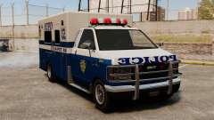 Новый фургон полиции для GTA 4