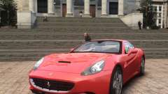Ferrari California 2009 для GTA 4