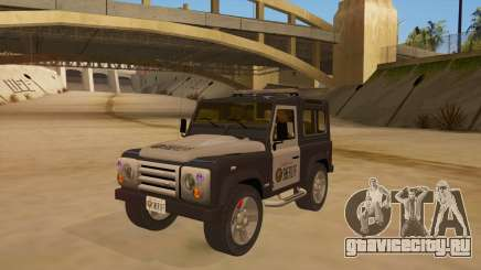 Land Rover Defender Sheriff для GTA San Andreas