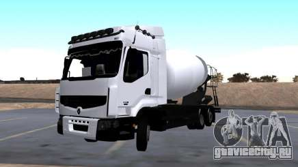 Renault Premium Бетоносмеситель для GTA San Andreas
