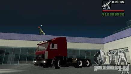 МАЗ-643068 для GTA San Andreas